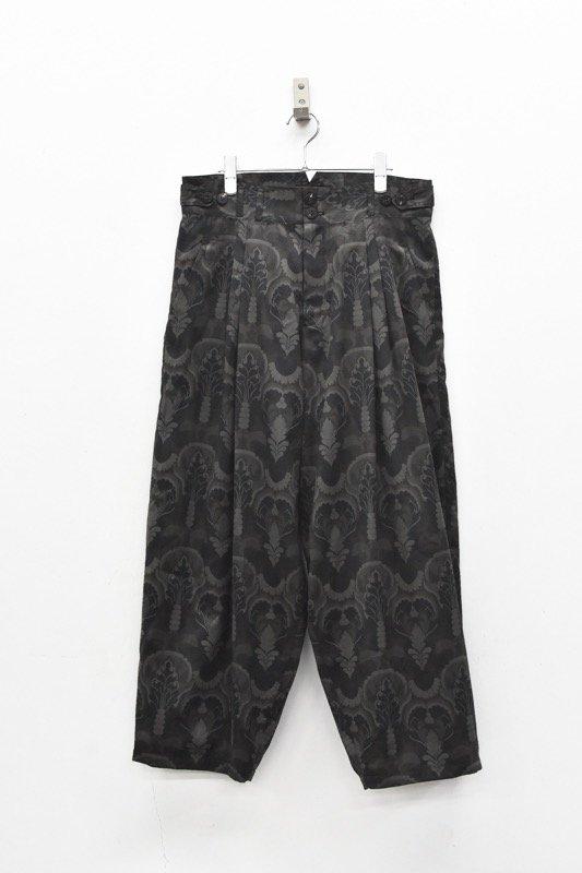 YANTOR / Buddha-Plant 2tack Wide Pants - DARK NAVY