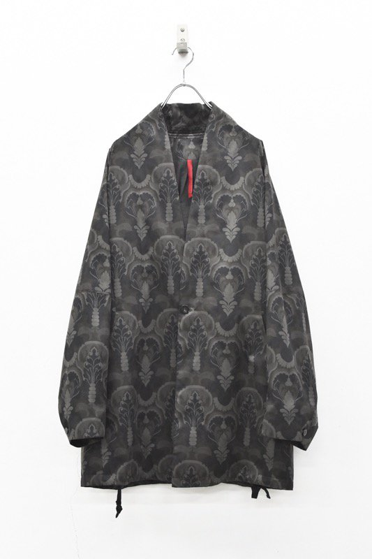 YANTOR / Buddha-Plant Fall Jacket - DARK NAVY