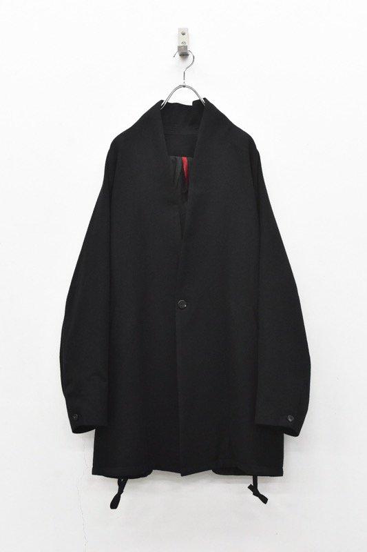 YANTOR / Silk Nep Fall Jacket - BLACK