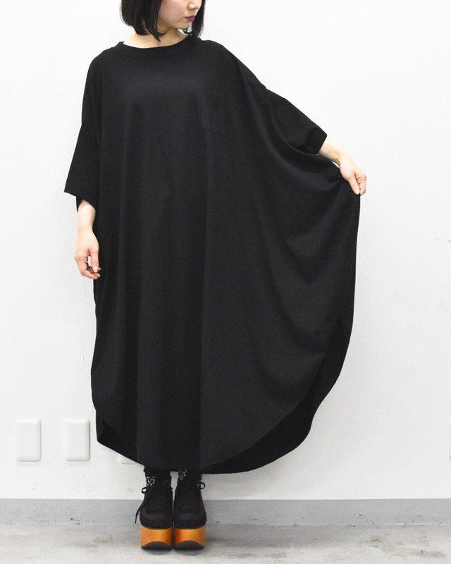 先行予約 RIDDLEMMA / Circle pocket T shirt Φ120