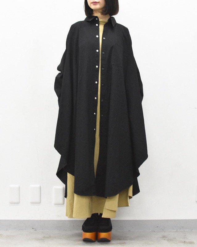 先行予約 RIDDLEMMA / Circle nylon long coat Φ120
