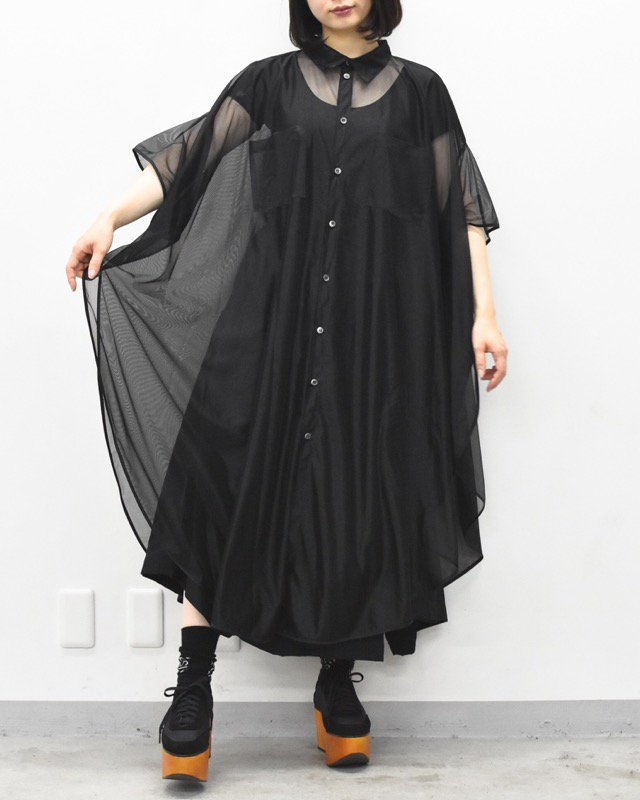 先行予約 RIDDLEMMA / Circle organdy dress Φ120