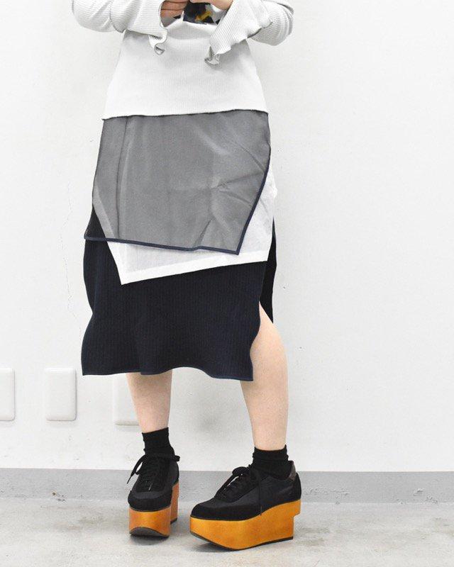 <アーカイブ>BALMUNG / マルチレイヤーニットスカート