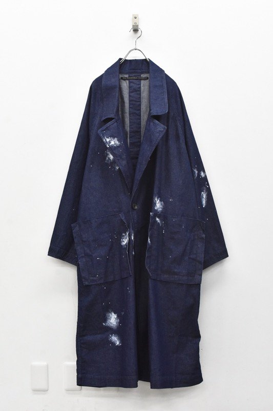 My Beautiful Landlet / 8oz Wide denim coat - ONE WASH INDIGO