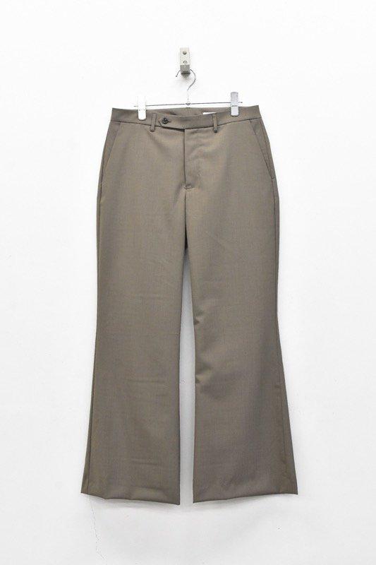 VOAAOV / Washable Wool Frea Pants - BEIGE