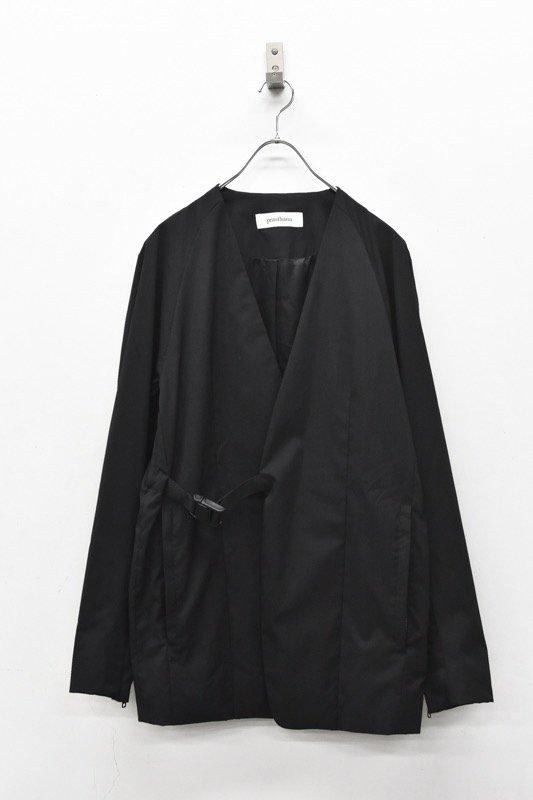 prasthana / W/SOLOTEX equalizing jacket - BLACK
