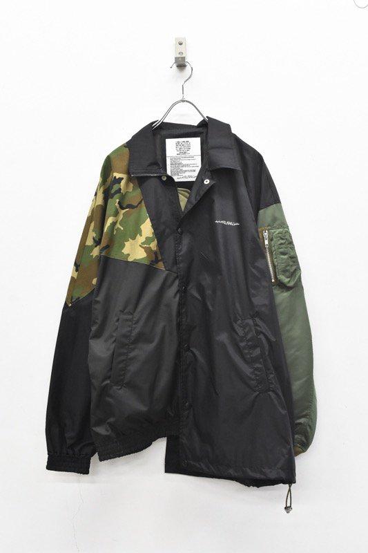 elephant TRIBAL fabrics / Hybrid JKT - BLACK