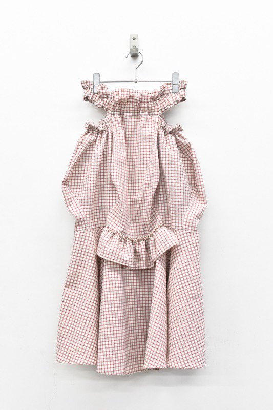 HOUGA / mary skirt - PINK