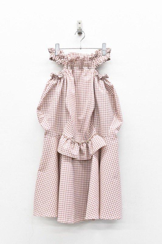 HOUGA / mary skirt - PINK