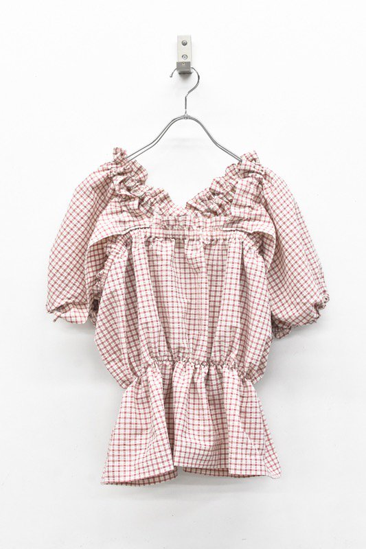 HOUGA / mary blouse - PINK