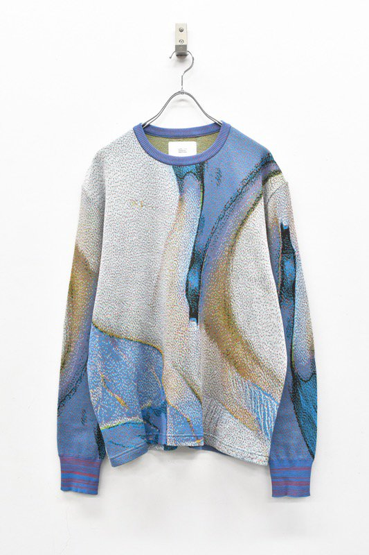 HATRA / Syn Feathet Sweater - SWALLOW