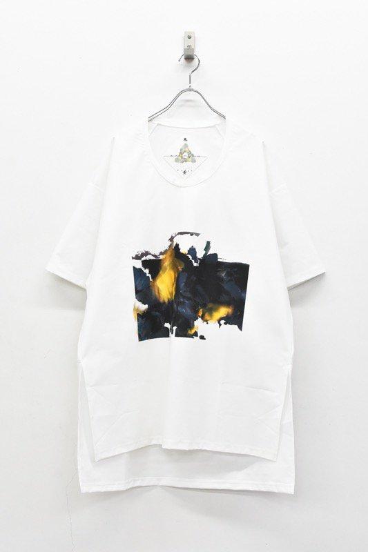 <アーカイブ>BALMUNG / グラフィックビッグTシャツ - FLOWER