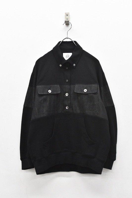 STOF / Omnibus Mix Pullover - BLACK