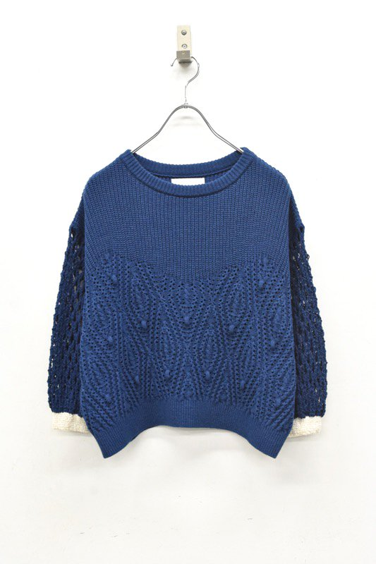 YUKI SHIMANE / Cindy Sweater - BLUE