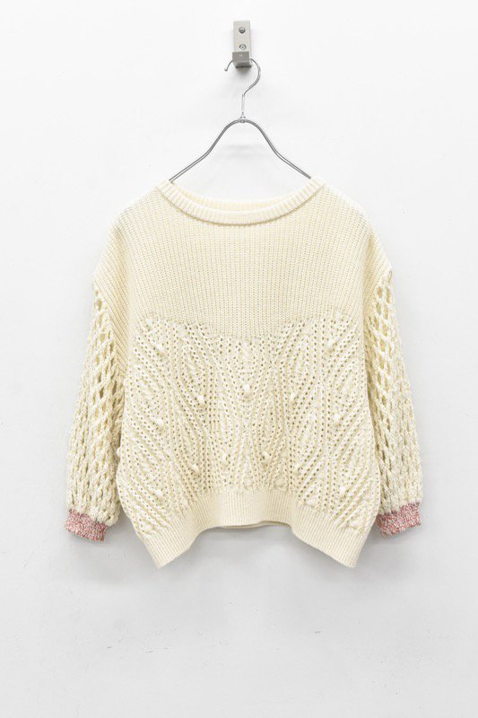 YUKI SHIMANE / Cindy Sweater - WHITE
