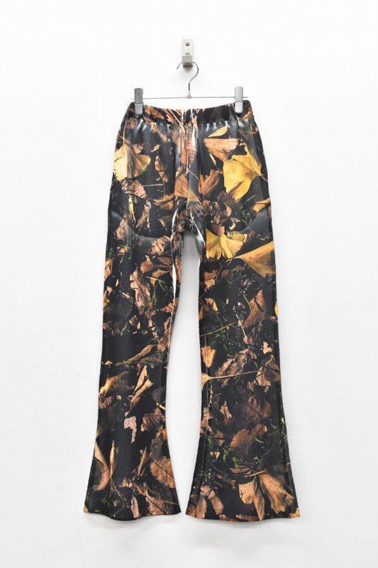 NON TOKYO / RIB FLARE PANTS - PRINT B