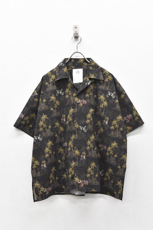 STOF / After War Aloha Shirts - BLACK