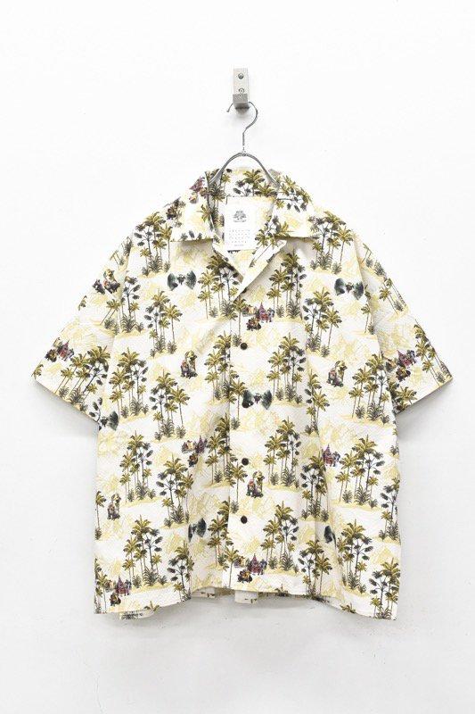 STOF / After War Aloha Shirts - BEIGE