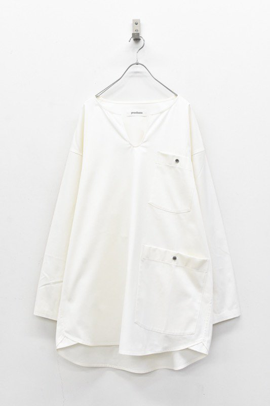 prasthana / long sleeper gen2 - WHITE