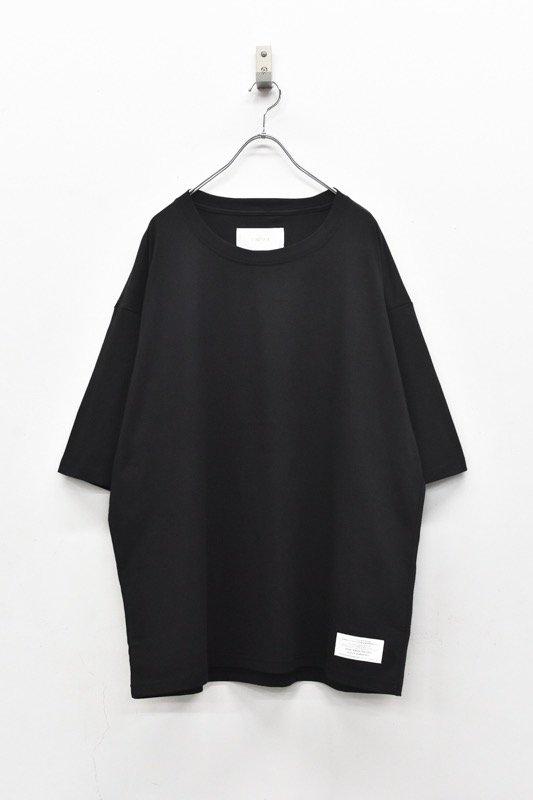 prasthana / C/S classic short sleeve - BLACK