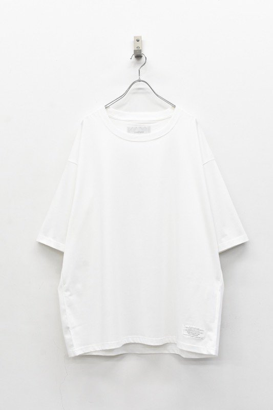prasthana / C/S classic short sleeve - WHITE