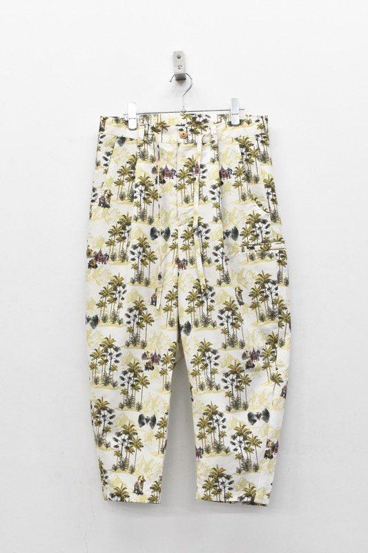 STOF / After War Aloha Pants - BEIGE
