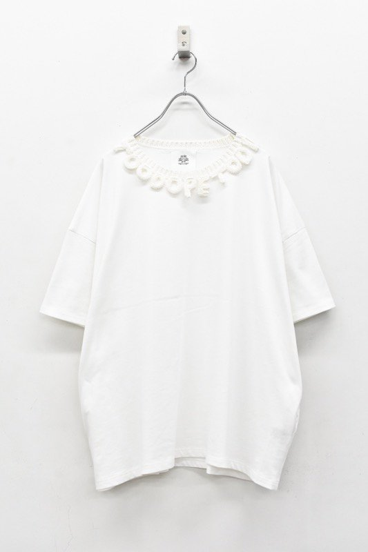 STOF / Too Dope Knit Tee - WHITE