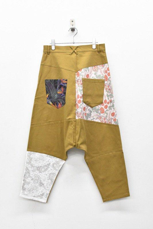 bedsidedrama / Mix Saruel Pants - BEIGE