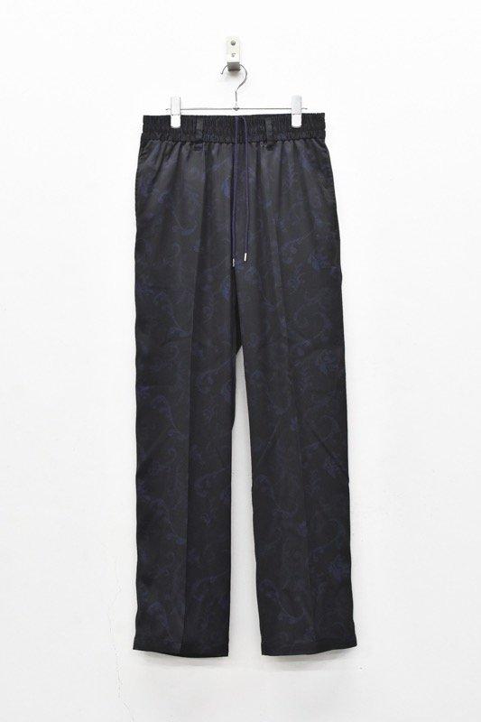 elephant TRIBAL fabrics / Resort Easy PT - BLACK
