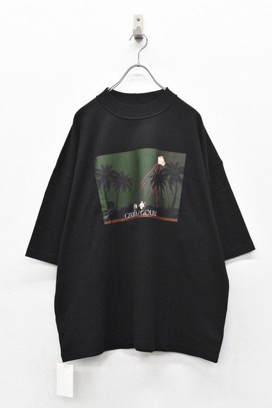 elephant TRIBAL fabrics / Inside Out Fat T(rain) - BLACK