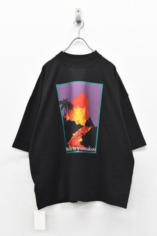 elephant TRIBAL fabrics / Inside Out Fat T(Volcano) - BLACK