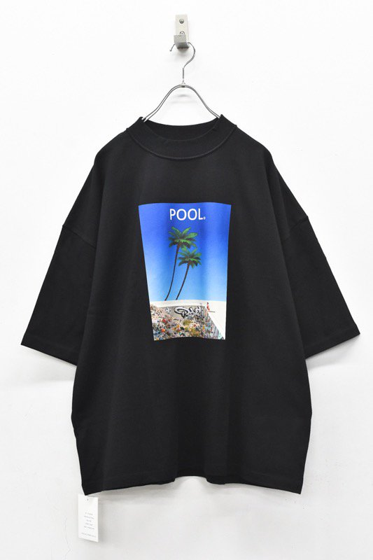 elephant TRIBAL fabrics / Inside Out Fat T(POOL) - BLACK