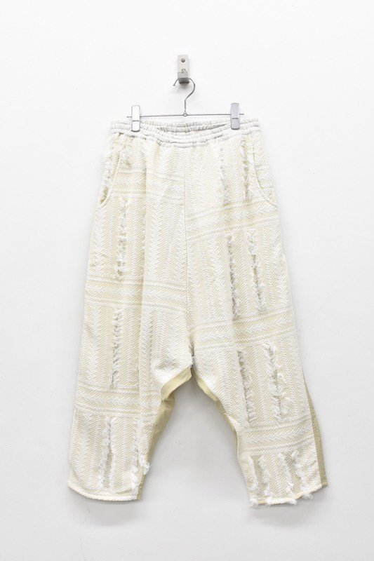 STOF / Thousand Leaves Pants - NATURAL