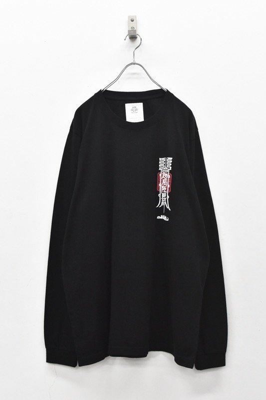 STOF / Words L/S Tee 護符 - BLACK