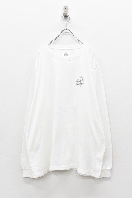 STOF / Words L/S Tee ワードサーチ - WHITE