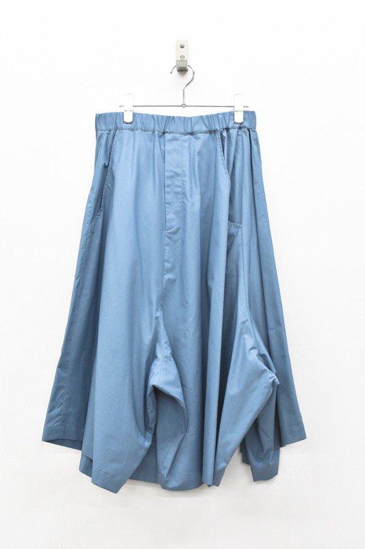 RIDDLEMMA / Three legs pants HALF - BLUE