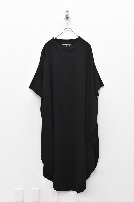 RIDDLEMMA / Circle pocket T shirt Φ120 - BLACK