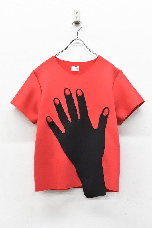 先行予約 INFANONYMOUS / Red Nails T shirts - RED