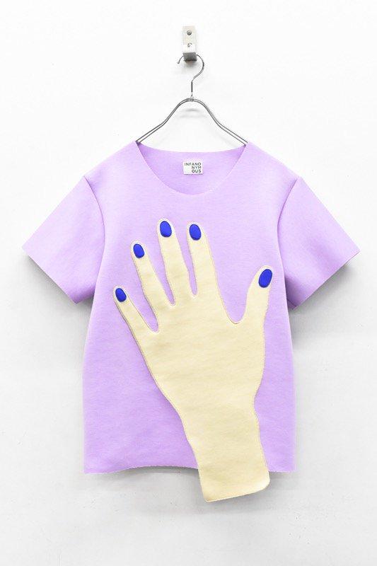 先行予約 INFANONYMOUS / Blue Nails T shirts - LAVENDER