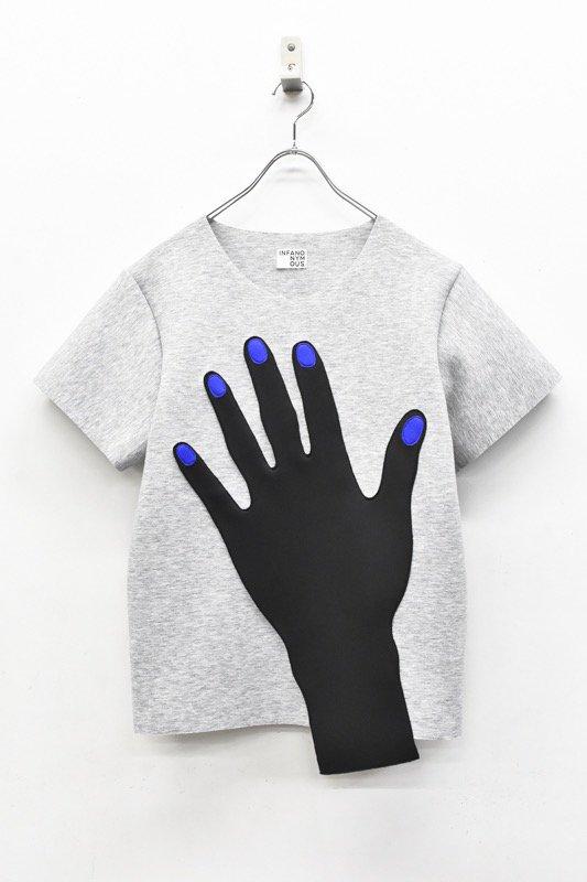 先行予約 INFANONYMOUS / Blue Nails T shirts - GRAY