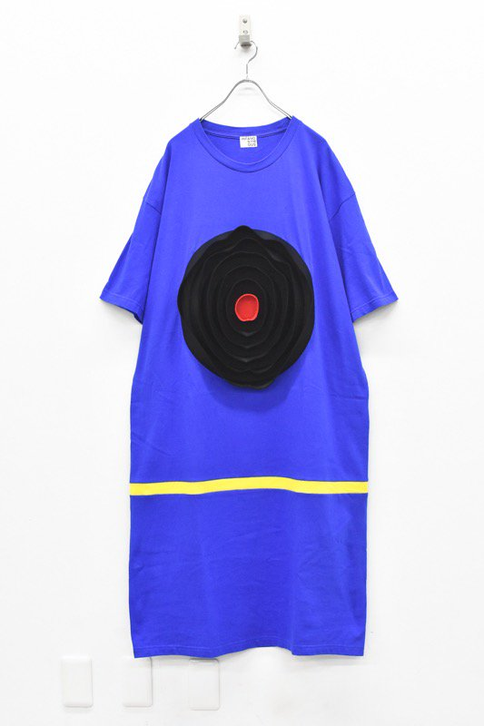 先行予約 INFANONYMOUS / 3D Jazz T dress - BLUE