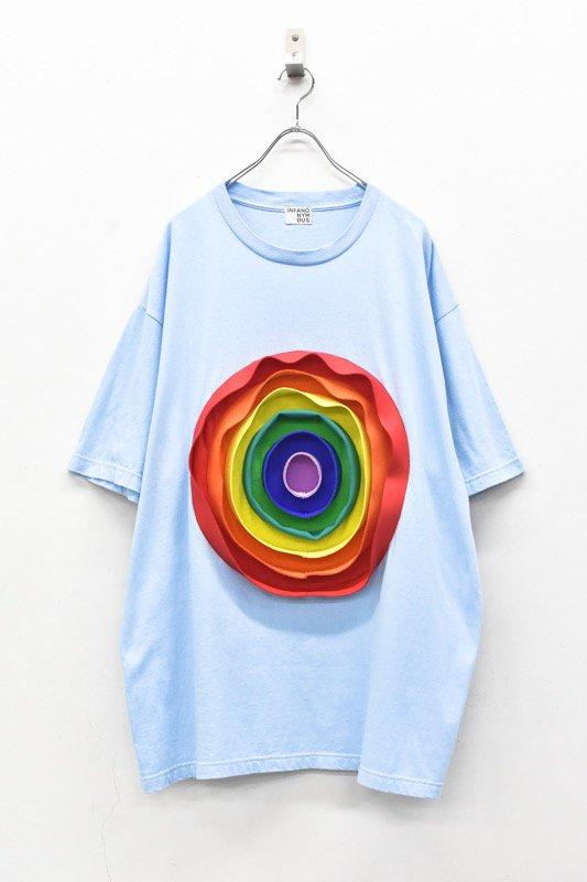 先行予約 INFANONYMOUS / 3D Rainbow T shirt - SKY