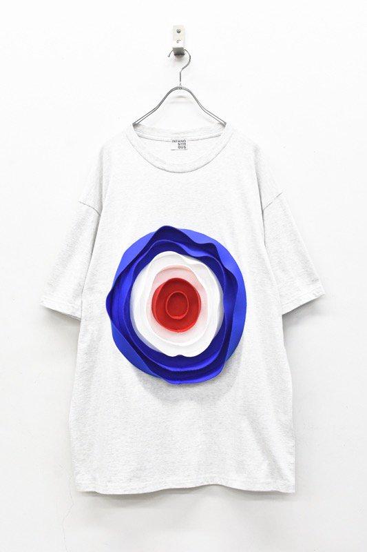 先行予約 INFANONYMOUS / 3D Target T shirt - HEATHER GRAY