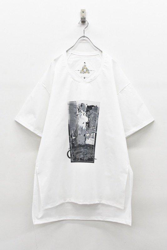 アーカイブ BALMUNG / グラフィックビッグTシャツ - CONCRETE PARK 白