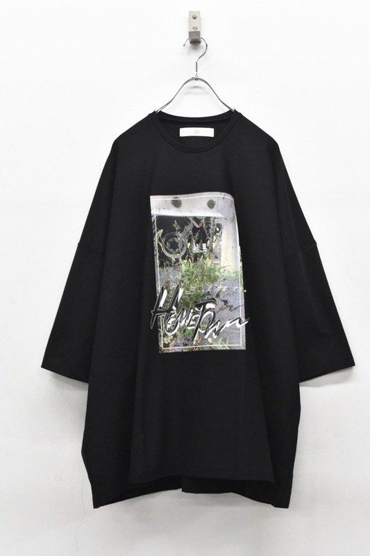 アーカイブ BALMUNG / プリントビッグTシャツ - HOME TOWN 黒