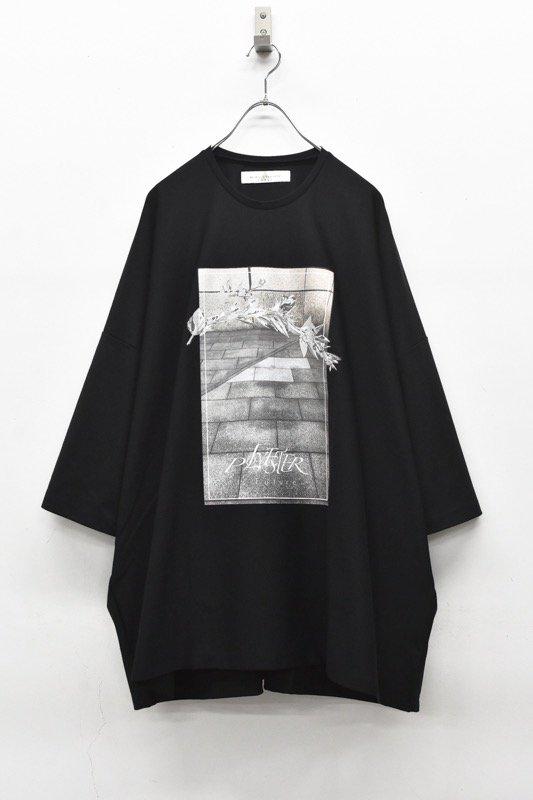 アーカイブ BALMUNG / プリントビッグTシャツ - POLYESTER 黒