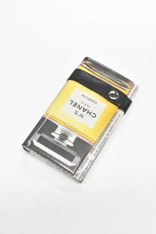 ANTI SYSTEM NEWS PAPER コインカードケース - 044