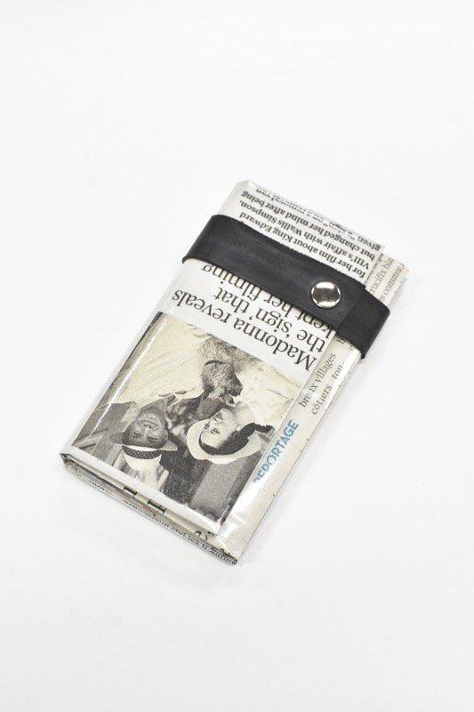 ANTI SYSTEM NEWS PAPER コインカードケース - 045