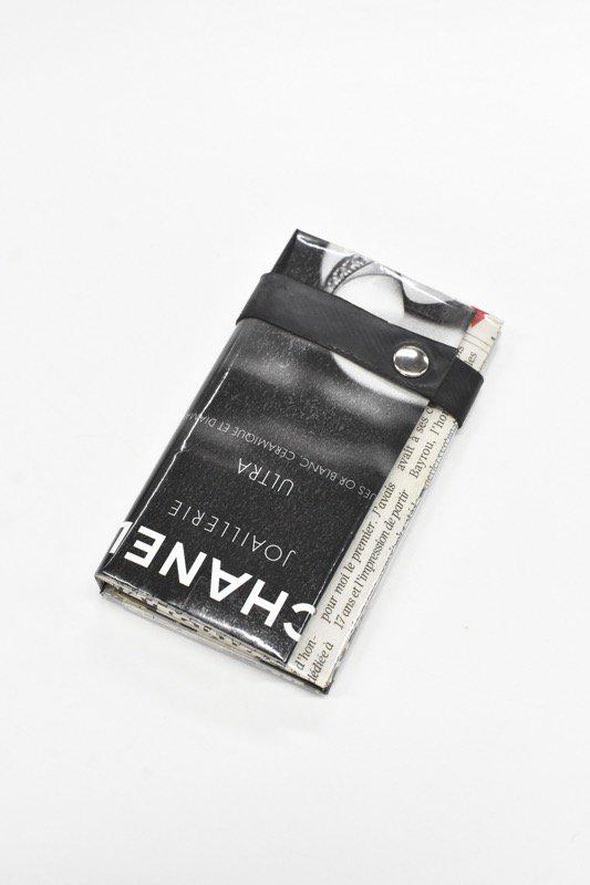 ANTI SYSTEM NEWS PAPER コインカードケース - 046