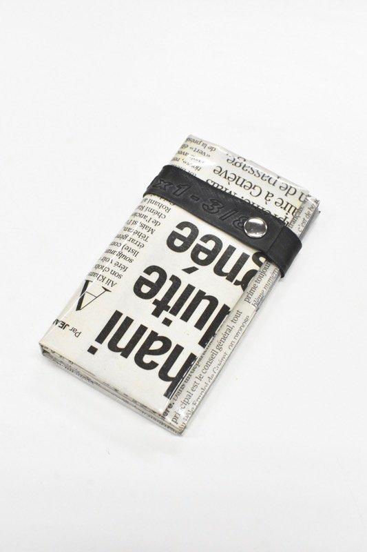 ANTI SYSTEM NEWS PAPER コインカードケース - 048